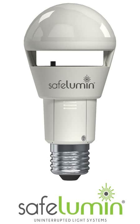 Safelumin is the best power outage light bulb