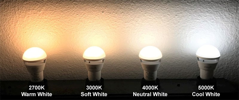 Safelumin power outage light is available in four white light colors